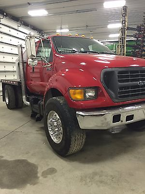 Ford : Other Pickups XL 2000 ford f 750 air ride extened cab