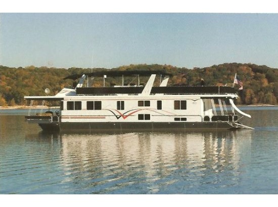 2008 Lakeview Yachts 16 X 68 Houseboat with Aft/Stern thrusters