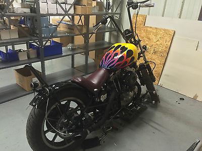 Harley-Davidson : Sportster 1978 sportster short chop ironhead bobber full custom