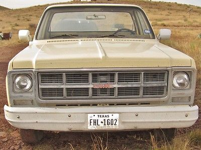 GMC : Sierra 1500 Sierra 1979 gmc sierra 15 2 wd short bed manual trans c 10 1500