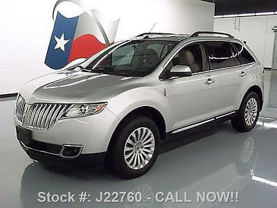 Lincoln : MKX CLIMATE LEATHER PWER LIFTGATE 2011 lincoln mkx climate leather pwer liftgate only 37 k j 22760 texas direct