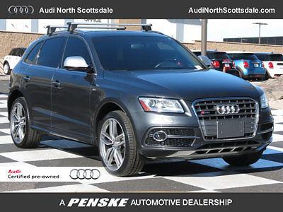 Audi : Q5 Prestige AWD NAVIGATION 17 k miles 15 audi sq 5 leather navigation bluetooth ipod pano roof sirius xm