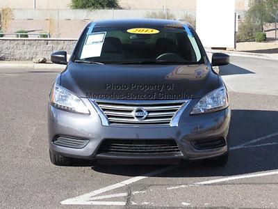 Nissan : Sentra 4dr Sedan I4 CVT SV 4 dr sedan i 4 cvt sv low miles gasoline 1.8 l 4 cyl amethyst gray