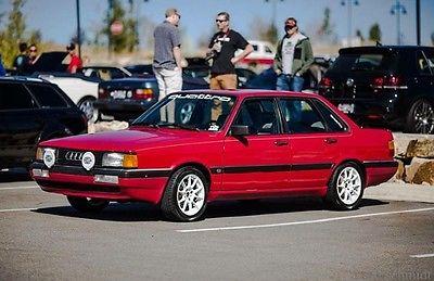 Audi : Other CS Sedan 4-Door 1987 audi 4000 quattro cs sedan 4 door 2.2 l