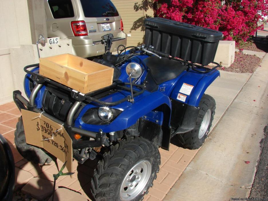 '06 Yamaha Grizzly 4X4 ATV 660cc