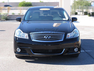 Infiniti : M45 4dr Sedan RWD 4 dr sedan rwd automatic gasoline 4.5 l 8 cyl black obsidian