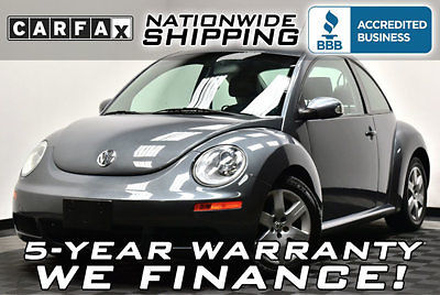 Volkswagen : Beetle-New 2dr Manual Low Miles Texas Owned CarFax Certified Service Records Manual Leather CLEAN