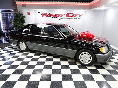 Mercedes-Benz : S-Class S Class 4dr Sedan 3.2L LWB 1996 mercedes benz s 320 long wheel base sedan 3.2 v 6 well maintained runs great