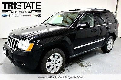 Jeep : Grand Cherokee Limited 4WD 2008 jeep limited 4 wd heated leather nav sunroof backup cam remote start 4.7 l v 8
