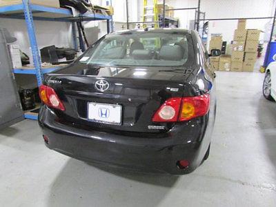 Toyota : Corolla 4dr Sedan Automatic LE 4 dr sedan automatic le automatic gasoline 1.8 l 4 cyl black