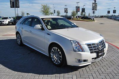 Other Makes : CTS Wagon Performance Collection Only 7K Original Miles Talk 2012 station wagon used gas v 6 3.6 l 220 6 rwd leather white