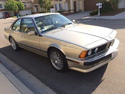 BMW : 6-Series CSI 1989 635 csi