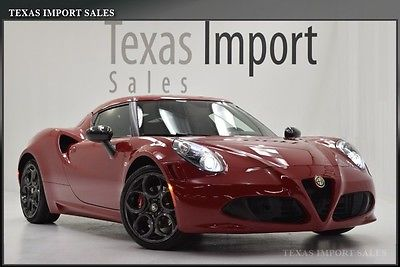 Alfa Romeo : Other LAUNCH EDITION 2015 alfa romeo 4 c launch edition coupe 1 800 miles convenience pkg like new