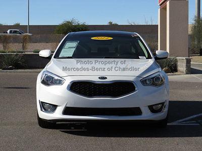 Kia : Cadenza 4dr Sedan Premium 4 dr sedan premium low miles automatic gasoline v 6 snow white pearl