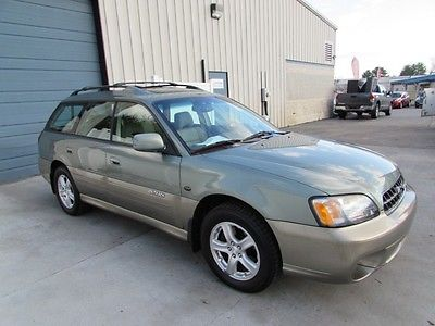 Subaru : Outback Outback 3.0L H6 L.L. Bean Edition AWD Wagon One Owner 2004 subaru outback ll bean sunroof leather 3.0 wgn 04 4 wd legacy knoxville tn