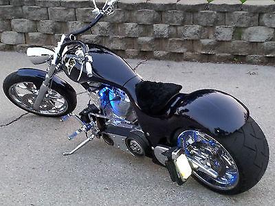Custom Built Motorcycles : Chopper ProStreet 2008 rucker performance predator custom pro street chopper over 85 k invested