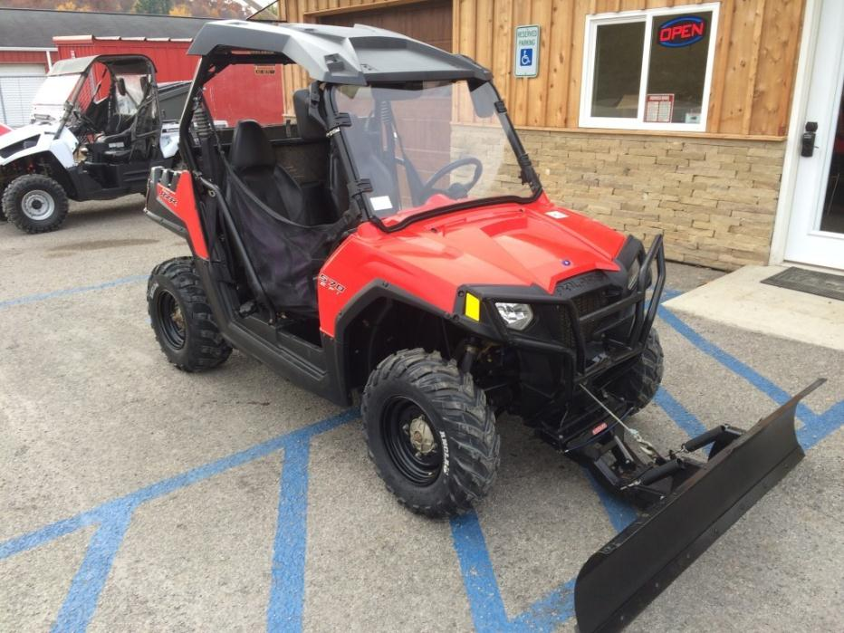 polaris rzr 570 with snow plow motorcycles for sale. Black Bedroom Furniture Sets. Home Design Ideas
