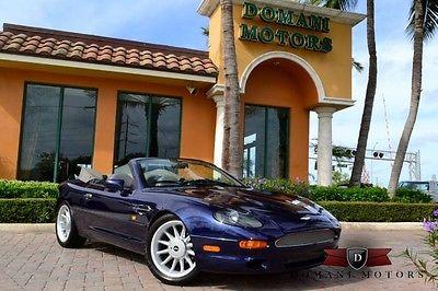 Aston Martin : DB7 Volante 1997 aston martin volante