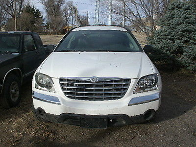 Chrysler : Pacifica Base Sport Utility 4-Door For parts, runs drives needs Power Steering Pump and Lines. New struts, tires,