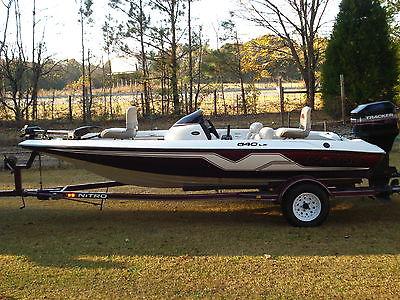1999 nitro 640 lx bassboat--90 hp mercury