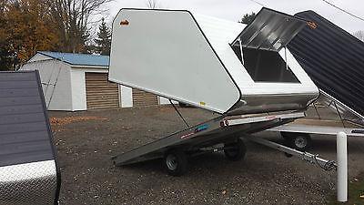 Pro Starr 10 ft snowmobile sled trailer tilt trailer atv trailer utv trailer