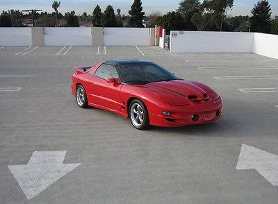 Pontiac : Firebird Trans Am WS6 2001 pontiac firebird trans am coupe ws 6 built low miles heads cam suspension