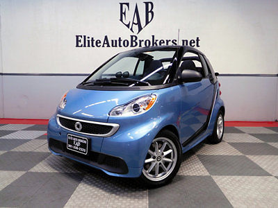 Smart : fortwo electric drive 2dr Cabriolet Passion 2014 smart fortwo cabriolet electric drive 6 k mi full warranty to aug 2018