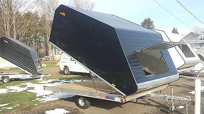 Pro Starr 12 ft snowmobile sled trailer tilt trailer atv trailer utv trailer