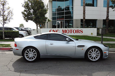 Aston Martin : Vanquish 2dr Coupe 2005 aston martin vanquish s silver on black low miles 19 k very clean
