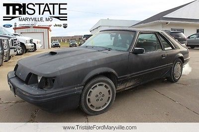 Ford : Mustang SVO 1984 ford svo