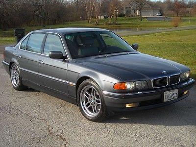 BMW : 7-Series 750iL 2000 bmw 750 il v 12 180 mph super car 118 k miles texas car no rust