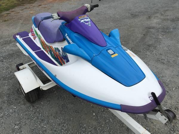 Kawasaki Jet Ski Twin Carb