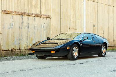 Maserati : Other 1975 maserati bora 4.9 l