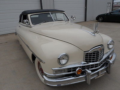 Packard : CUSTOM EIGHT SERIES 2233 CONVERTIBLE PACKARD CONVERTIBLE 1949 packard custom eight series 2233 convertible power windows fender skirts