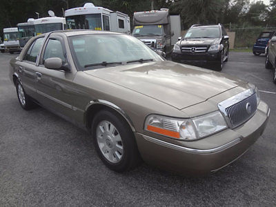 Mercury : Grand Marquis 4dr Sedan LS Ultimate 2004 grand marquis ls ultimate edition low miles clean loaded certified warranty