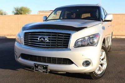 Infiniti : QX56 SUV LUXURY 2012 infinity qx 56 4 x 4 3 rd row