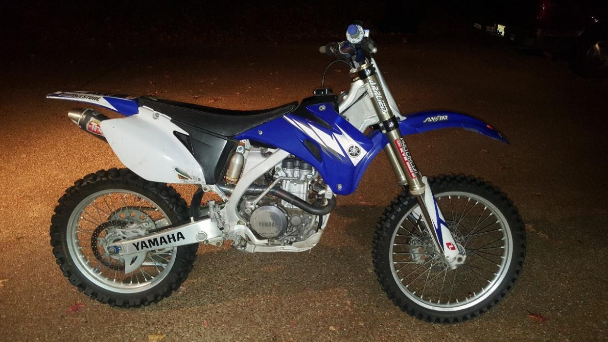 yamaha yz 450 f motorcycles for sale in mississippi. Black Bedroom Furniture Sets. Home Design Ideas