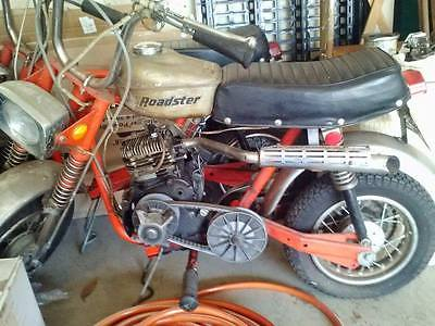 Other Makes : Roadster 1970 rupp roadster mini bike all original