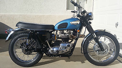 Triumph : Trophy 1968 triumph trophy special tr 6 c 5 speed upgrade
