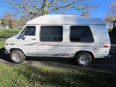 Chevrolet : G20 Van G-20 1994 chevrolet g 20 van chevy 5.7 l v 8 with braun vangater wheel chair lift