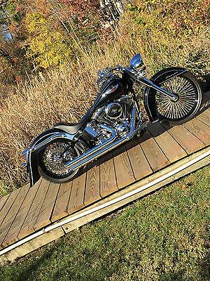 Harley-Davidson : Softail 2012 harley davidson softail deluxe cvo 103 six speed