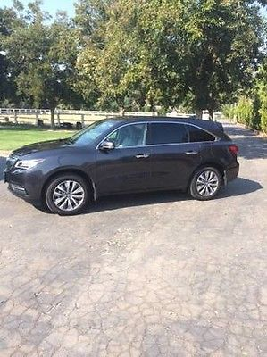Acura : MDX Tech Pkg 2014 acura mdx tech package awd suv original owner 17 800 low miles