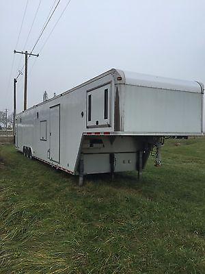 ATC car trailer, 48 ft gooseneck
