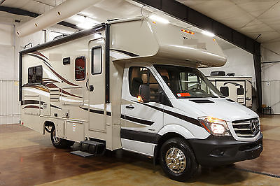 New 2016 2150 Class C Mercedes Benz Sprinter Diesel Motorhome with Slide Out
