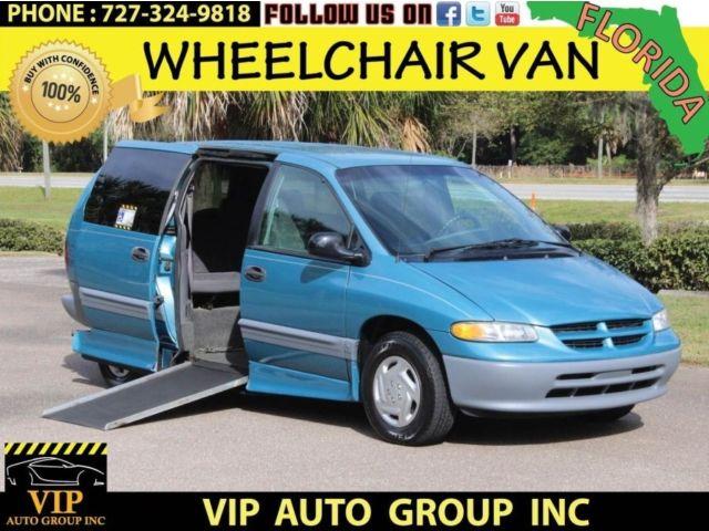 Dodge : Grand Caravan Grand SE 1996 dodge handicap wheelchair van power lift door 3 months warranty