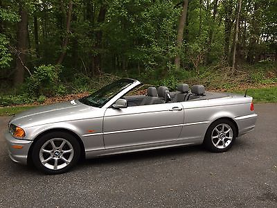 BMW : 3-Series 2001 bmw convertible 325 ci excellent condition