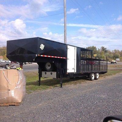 Auto parts hauling trailer