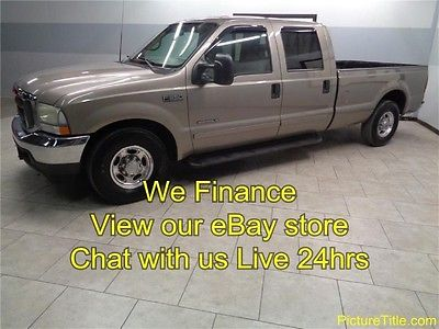 Ford : F-350 Lariat 2WD Crew 7.3 Diesel Leather Heated Seats 02 f 350 lariat 2 wd crew leather heated seats 7.3 diesel we finance texas