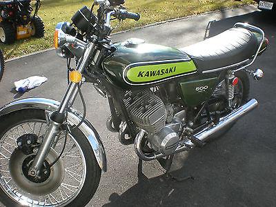 Kawasaki : Other 1973 kawasaki h 1 300 miles original