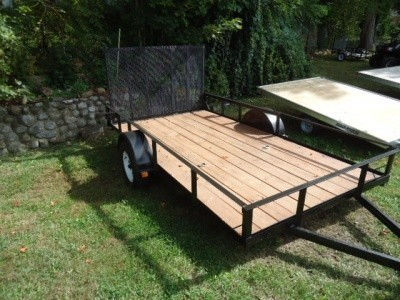 2016 All Aluminum Inline 7 x 22 Three Place Sled Trailer for Sale